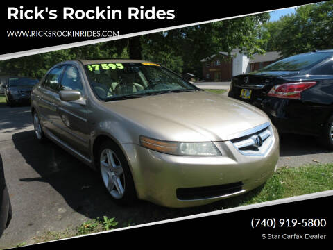 2005 Acura TL for sale at Rick's Rockin Rides in Reynoldsburg OH