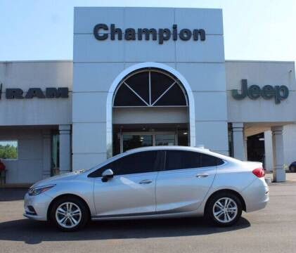 2017 Chevrolet Cruze for sale at Champion Chevrolet in Athens AL