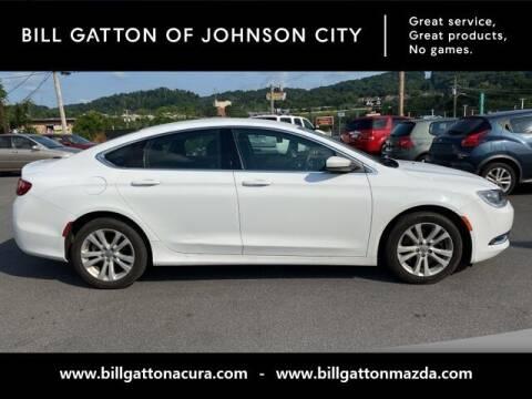 2016 Chrysler 200 for sale at Bill Gatton Used Cars - BILL GATTON ACURA MAZDA in Johnson City TN