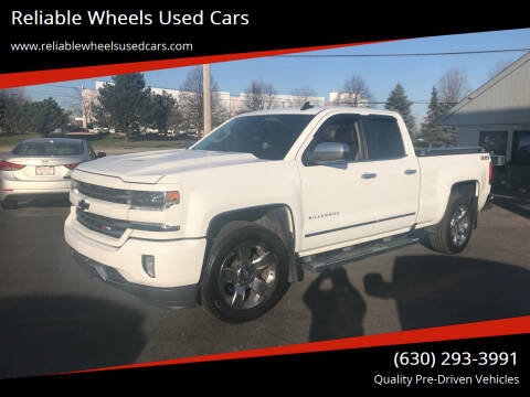 2017 Chevrolet Silverado 1500 for sale at Reliable Wheels Used Cars in West Chicago IL