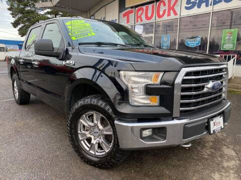 2015 Ford F-150 for sale at Xtreme Truck Sales in Woodburn OR