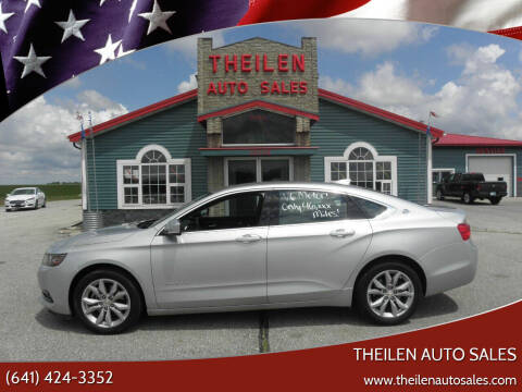 2018 Chevrolet Impala for sale at THEILEN AUTO SALES in Clear Lake IA