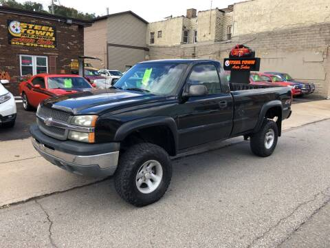 2003 Chevrolet Silverado 1500 for sale at STEEL TOWN PRE OWNED AUTO SALES in Weirton WV