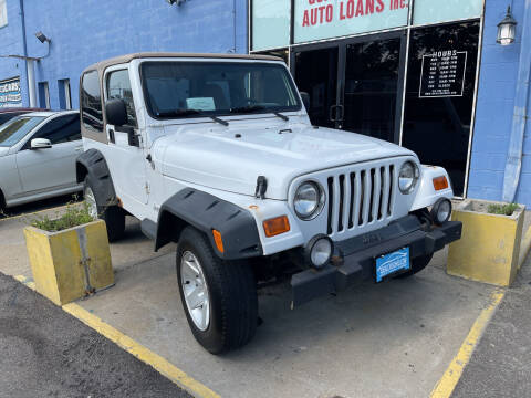 2002 Jeep Wrangler for sale at Ideal Cars in Hamilton OH