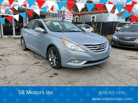 2012 Hyundai Sonata for sale at SR Motors Inc in Gainesville GA