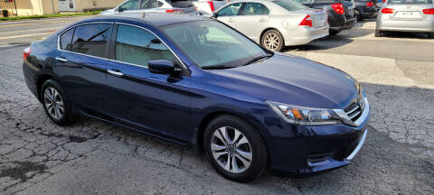 2014 Honda Accord for sale at WEELZ in New Castle DE