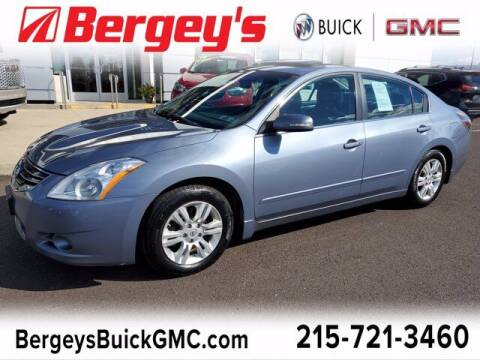 2012 Nissan Altima for sale at Bergey's Buick GMC in Souderton PA