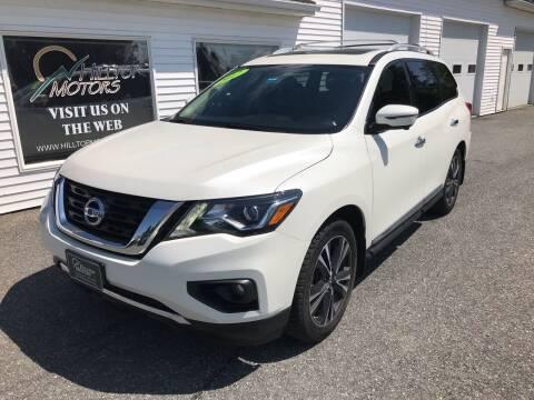 2017 Nissan Pathfinder for sale at HILLTOP MOTORS INC in Caribou ME