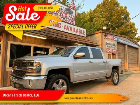 2018 Chevrolet Silverado 1500 for sale at Oscar's Truck Center, LLC in Houston TX
