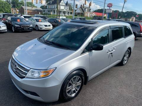 2012 Honda Odyssey for sale at Masic Motors, Inc. in Harrisburg PA