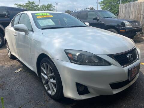 2011 Lexus IS 250 for sale at Zs Auto Sales in Kenosha WI