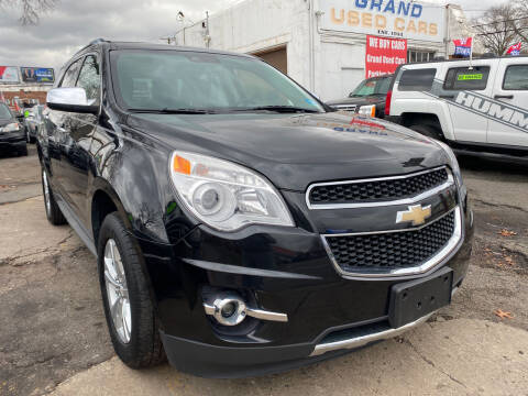 2013 Chevrolet Equinox for sale at GRAND USED CARS  INC in Little Ferry NJ