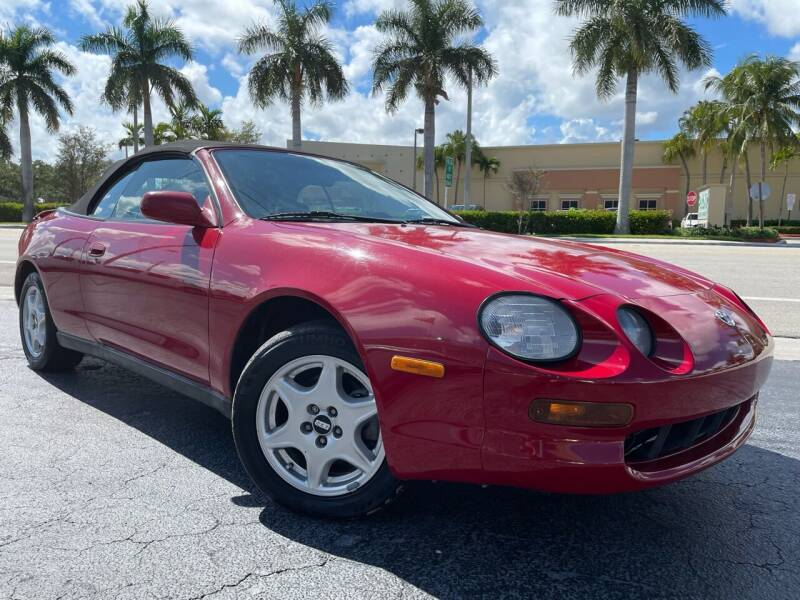 1997 Toyota Celica for sale at Kaler Auto Sales in Wilton Manors FL