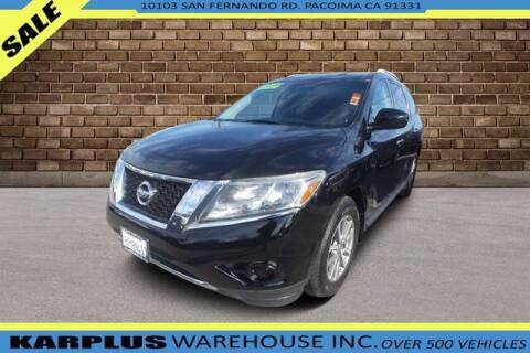 2014 Nissan Pathfinder for sale at Karplus Warehouse in Pacoima CA