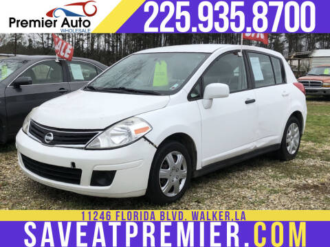 2010 Nissan Versa for sale at Premier Auto Wholesale in Baton Rouge LA
