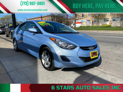 2011 Hyundai Elantra for sale at 6 STARS AUTO SALES INC in Chicago IL