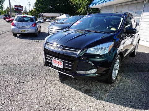 2016 Ford Escape for sale at Colonial Motors in Mine Hill NJ