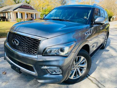 2017 Infiniti QX80 for sale at Cobb Luxury Cars in Marietta GA