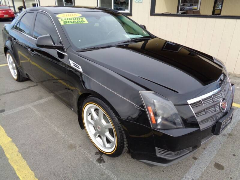 2008 Cadillac CTS for sale at BBL Auto Sales in Yakima WA