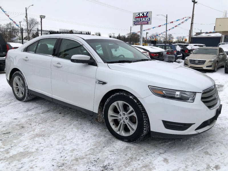 2017 Ford Taurus for sale at SKY AUTO SALES in Detroit MI