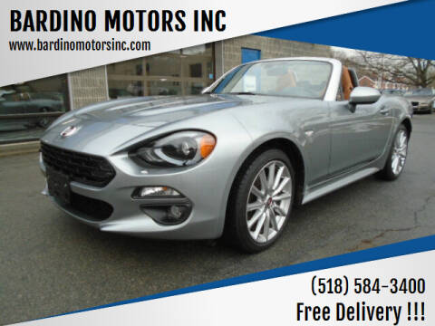 2017 FIAT 124 Spider for sale at BARDINO MOTORS INC in Saratoga Springs NY