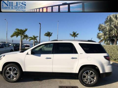 2016 GMC Acadia for sale at Niles Sales and Service in Key West FL
