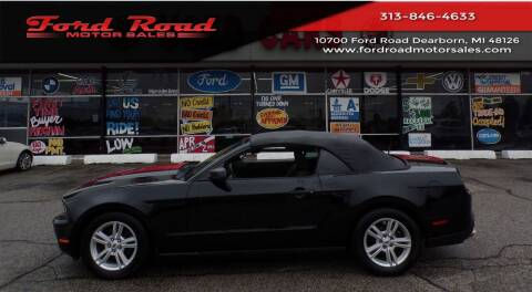 2012 Ford Mustang for sale at Ford Road Motor Sales in Dearborn MI