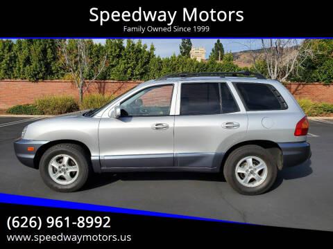 2004 Hyundai Santa Fe for sale at Speedway Motors in Glendora CA