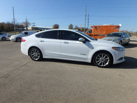 2017 Ford Fusion Hybrid for sale at BLACKWELL MOTORS INC in Farmington MO