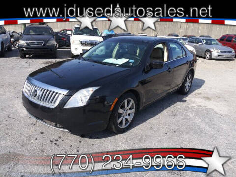 2010 Mercury Milan for sale at J D USED AUTO SALES INC in Doraville GA