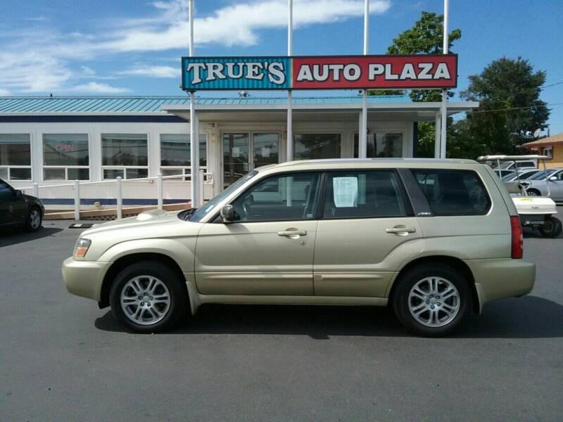2004 Subaru Forester for sale at True's Auto Plaza in Union Gap WA