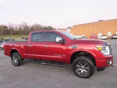 2017 Nissan Titan XD for sale at DUNCAN SUZUKI in Pulaski VA