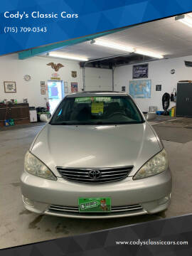 2006 Toyota Camry for sale at Cody's Classic Cars in Stanley WI