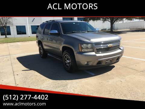 2008 Chevrolet Tahoe for sale at ACL MOTORS in Austin TX