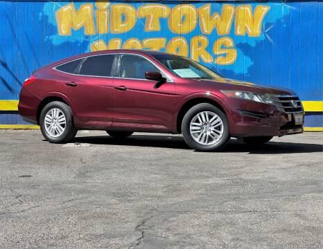 2012 Honda Crosstour for sale at Midtown Motors in San Jose CA