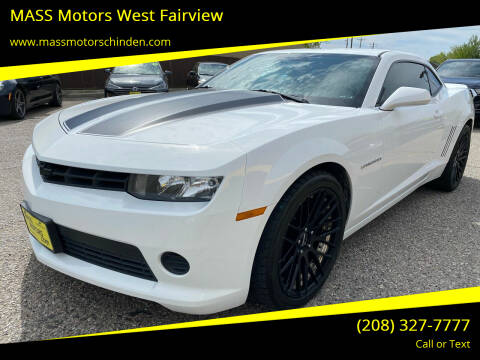 2015 Chevrolet Camaro for sale at M.A.S.S. Motors - West Fairview in Boise ID