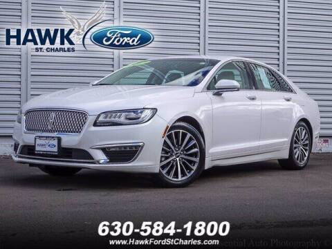2017 Lincoln MKZ for sale at Hawk Ford of St. Charles in St Charles IL