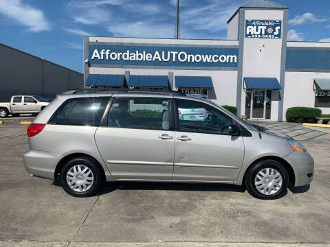 2008 Toyota Sienna for sale at Affordable Autos in Houma LA