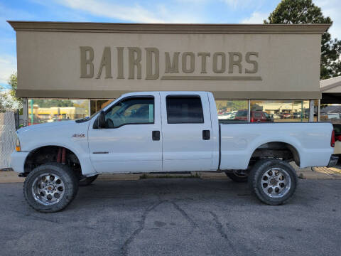 2002 Ford F-350 Super Duty for sale at BAIRD MOTORS in Clearfield UT