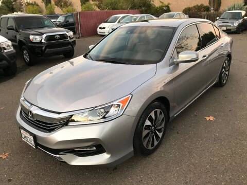 2017 Honda Accord Hybrid for sale at C. H. Auto Sales in Citrus Heights CA