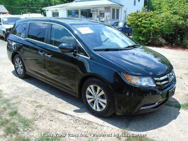 2015 Honda Odyssey for sale at Vans Vans Vans INC in Blauvelt NY