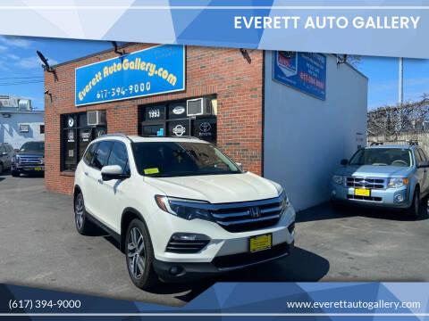 2016 Honda Pilot for sale at Everett Auto Gallery in Everett MA