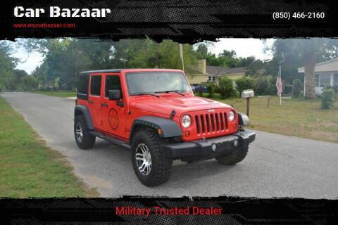 2013 Jeep Wrangler Unlimited for sale at Car Bazaar in Pensacola FL