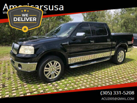 2006 Lincoln Mark LT for sale at Americarsusa in Hollywood FL