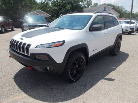 2016 Jeep Cherokee for sale at Jenison Auto Sales in Jenison MI