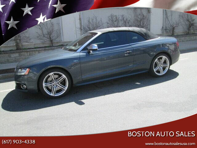 2011 Audi S5 for sale at Boston Auto Sales in Brighton MA