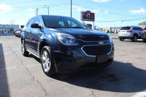 2017 Chevrolet Equinox for sale at B & B Car Co Inc. in Clinton Township MI
