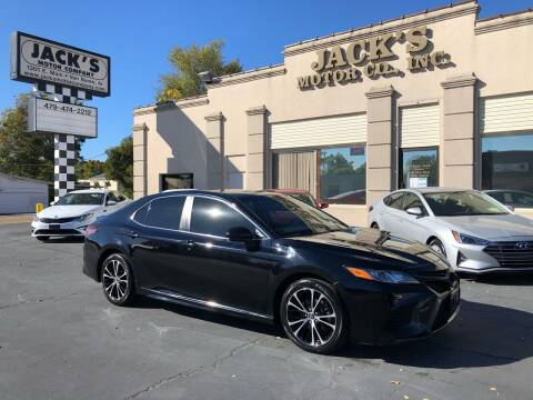 2018 Toyota Camry for sale at JACK'S MOTOR COMPANY in Van Buren AR