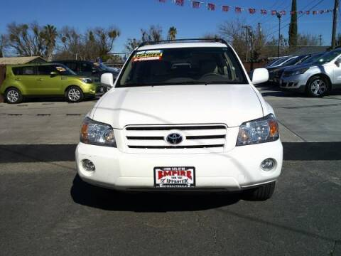 2006 Toyota Highlander for sale at Empire Auto Sales in Modesto CA