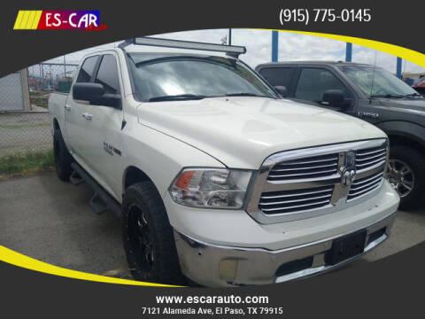 2016 RAM Ram Pickup 1500 for sale at Escar Auto in El Paso TX